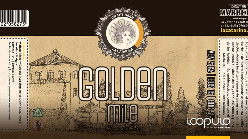 Cerveza La Catarina, Golden Mile