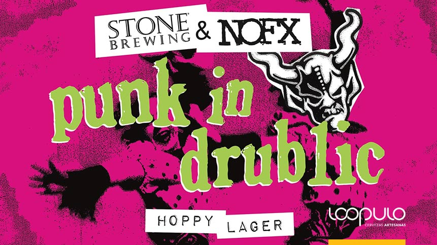 Cerveza de NOFX y Stone Brewing - Loopulo
