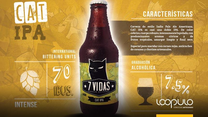 Cerveza 7 Vidas Cat IPA – Loopulo