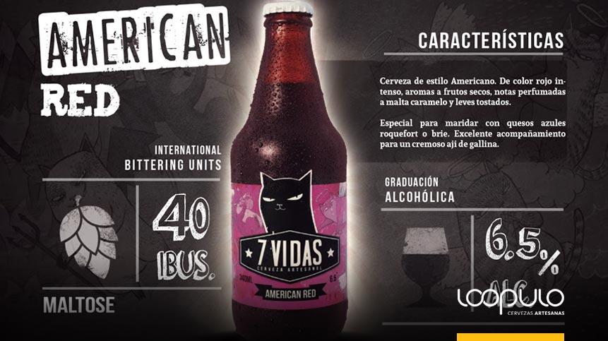 Cerveza 7 Vidas American Red Ale – Loopulo