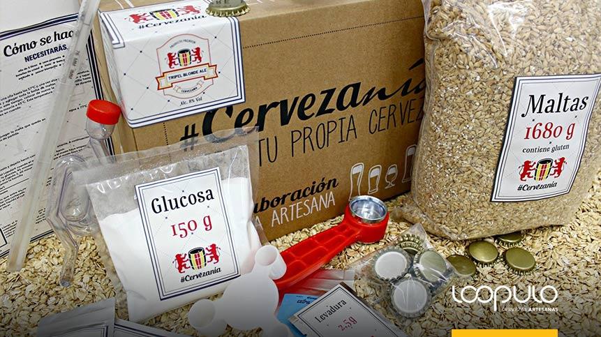 Kit de elaboración Tripel Blonde Ale, de Cervezanía