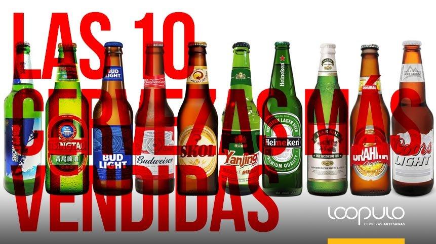 Las 10 cervezas más vendidas
