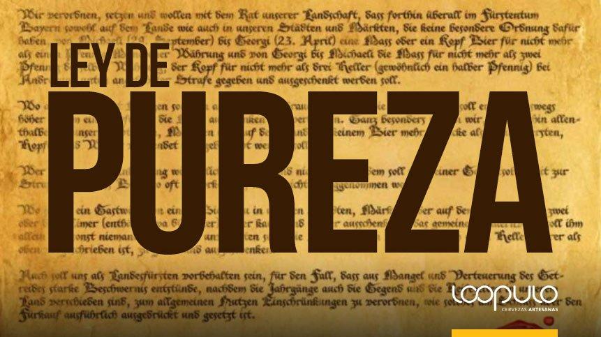 Ley de Pureza de 1516 – Loopulo