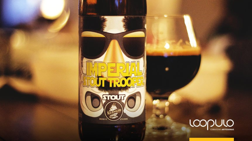 La cerveza de STAR WARS: Imperial Stout Trooper