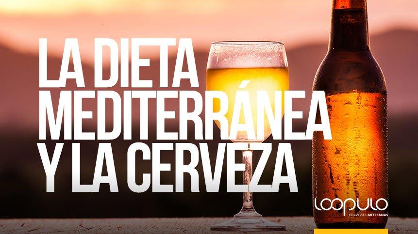 La dieta mediterránea y la cerveza