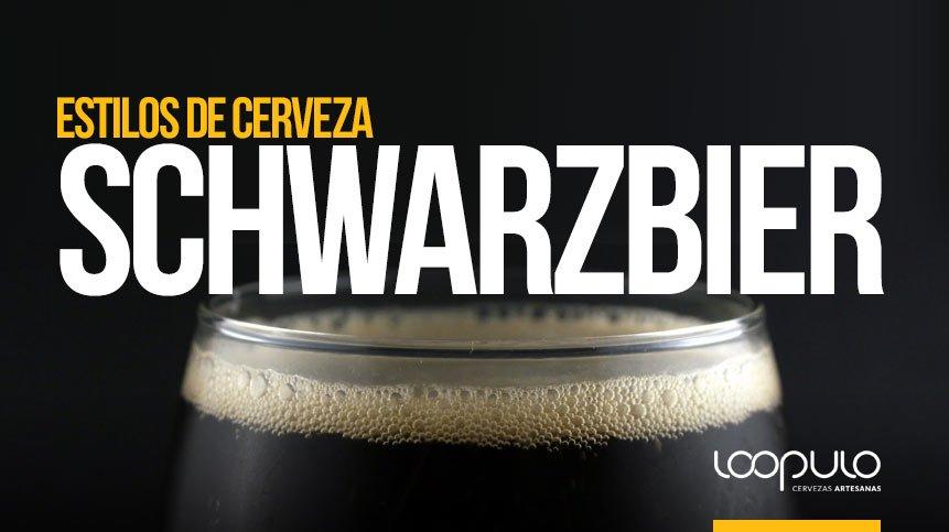 Estilo de cerveza SCHWARZBIER, cerveza tipo lager alemana