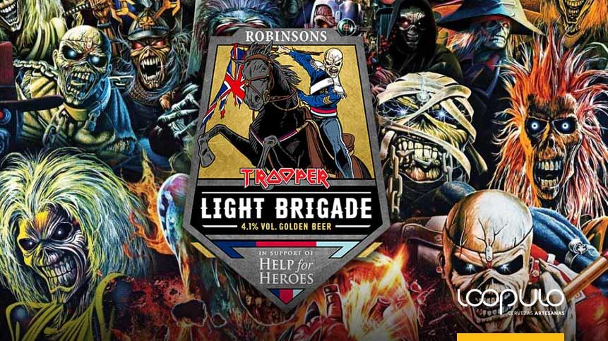 LIGHT BRIGADE | La nueva cerveza de Iron Maiden