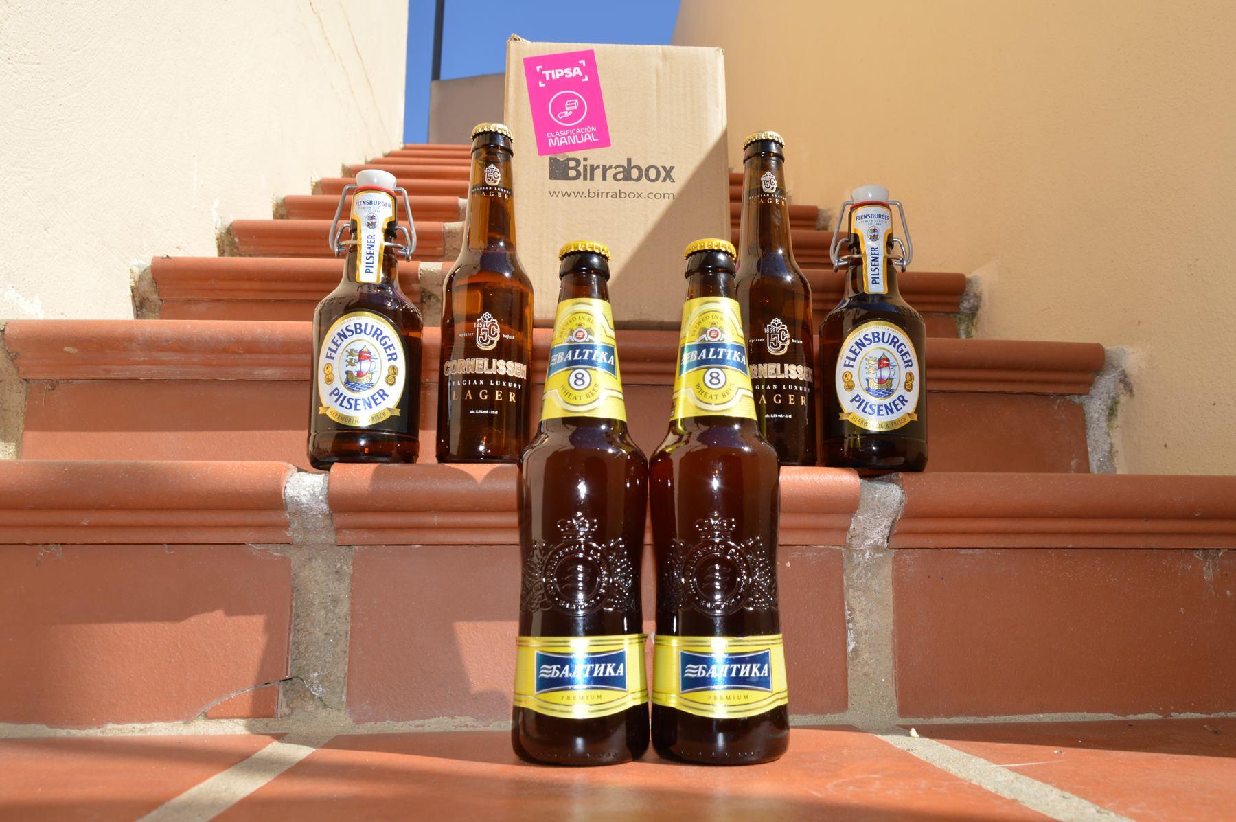 BIRRABOX   Y sus packs de cervezas internacionales