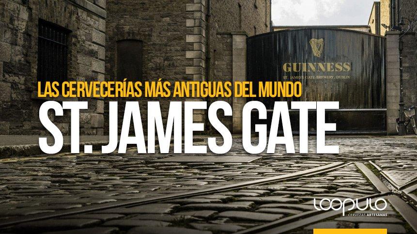 St. James's Gate | Las cervecerías más antiguas del mundo