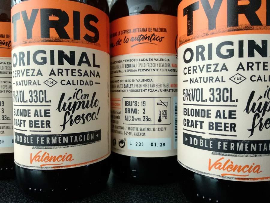 Cerveza Tyris y su tercera fábrica de cervezas artesanas