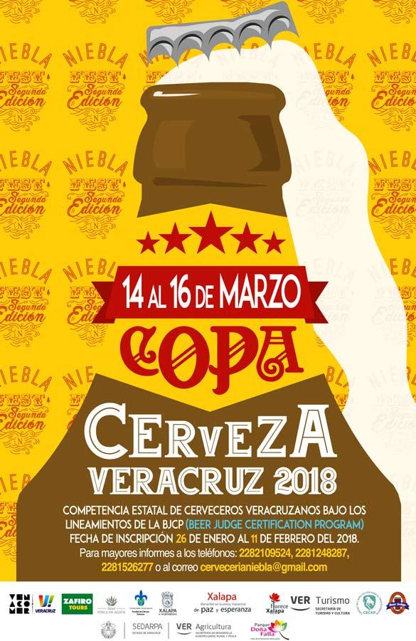 Niebla Fest Xalapa Segunda Edición. Cartel Copa Cerveza Veracruz – Loopulo