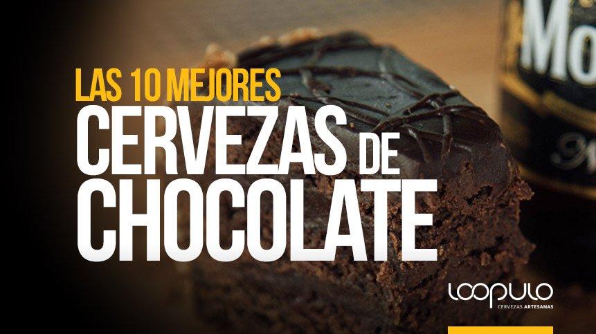 Las 10 MEJORES CERVEZAS DE CHOCOLATE