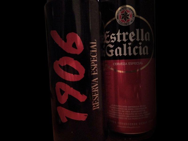 Cerveza 1906, Reserva Especial. Estrella Galicia – Loopulo