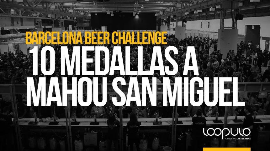 Barcelona Beer Challenge | 10 medallas a Mahou San Miguel