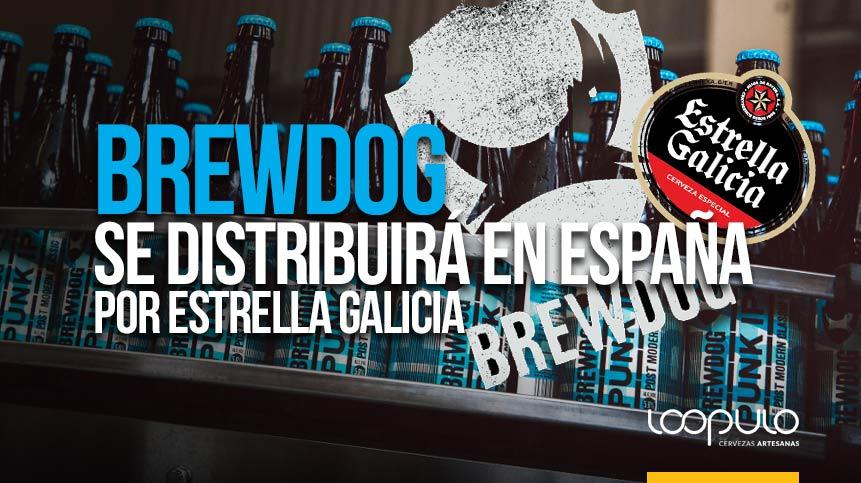 BREWDOG se distribuirá en España por ESTRELLA GALICIA