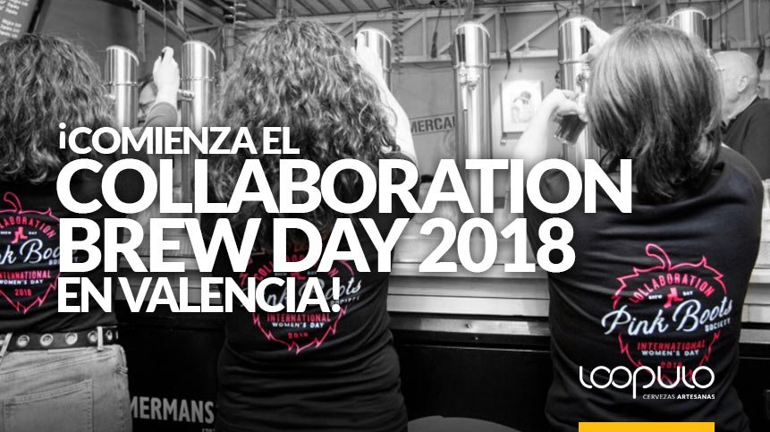 Comienza el Collaboration Brew Day 2018 en Valencia – Loopulo