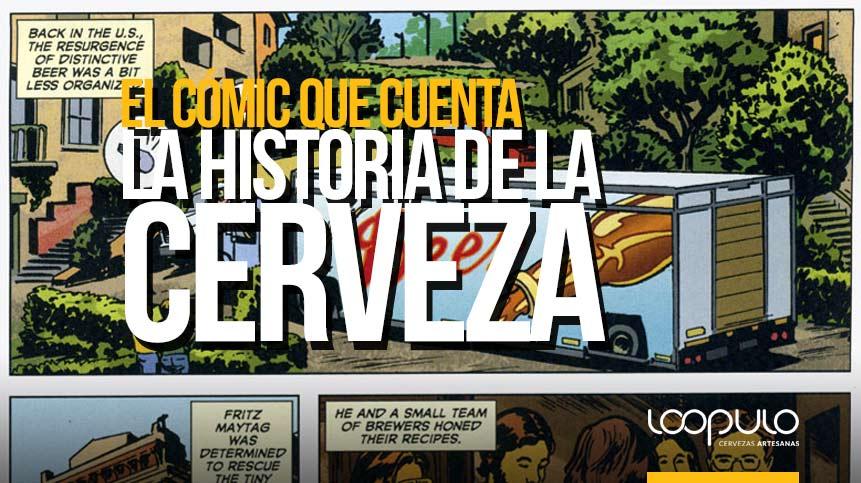 El cómic que cuenta la HISTORIA DE LA CERVEZA – Loopulo