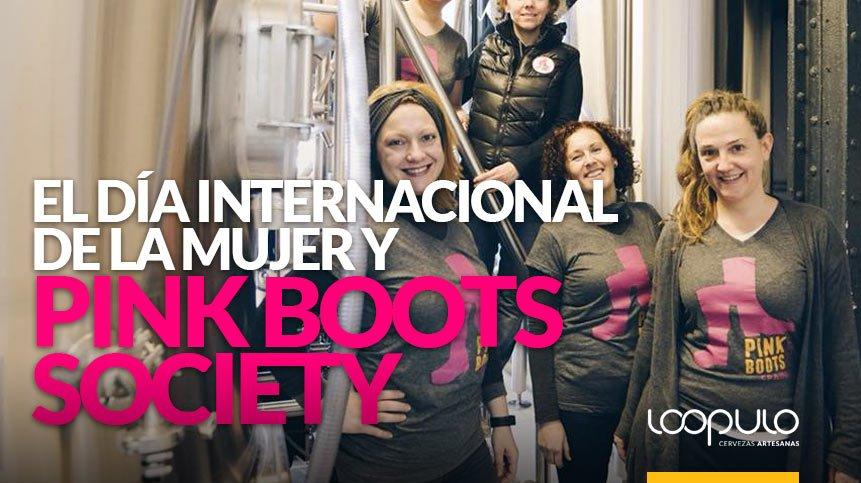 El Día Internacional de la Mujer y PINK BOOTS SOCIETY