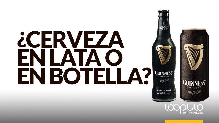 CERVEZA EN LATA | ¿Prefieres la cerveza en lata o en botella?