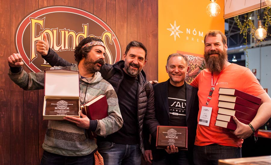 Mahou San Miguel triunfa en Barcelona Beer Challenge con sus socios Founders Brewing, Nómada Brewing y La Salve – Loopulo