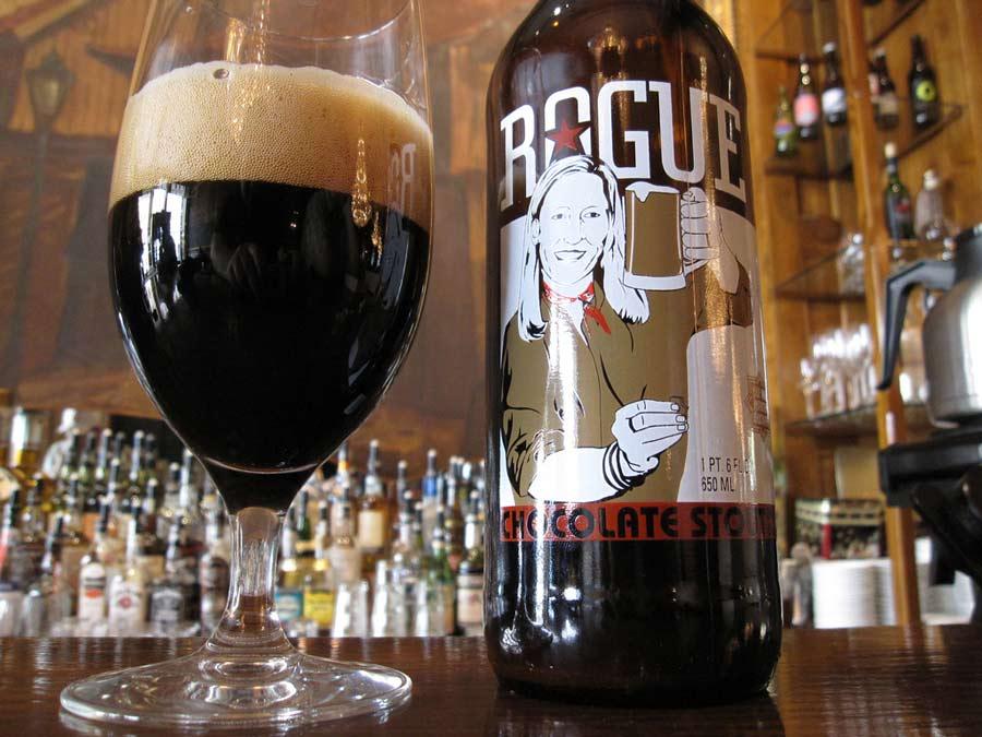 Chocolate Stout, de Rouge. Las 10 mejores cervezas de chocolate – Loopulo