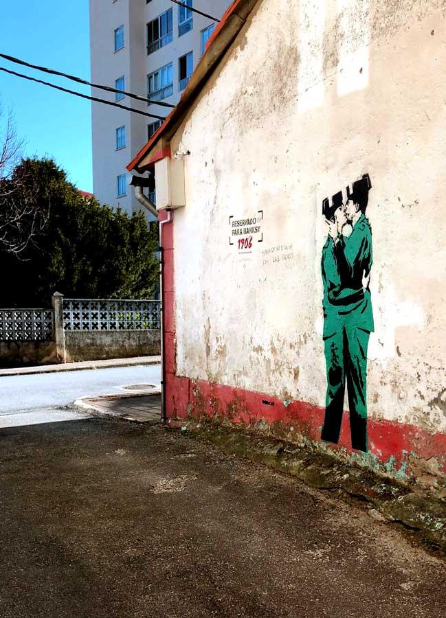 ¿Ha respondido Banksy a la llamada de Cerveza 1906?