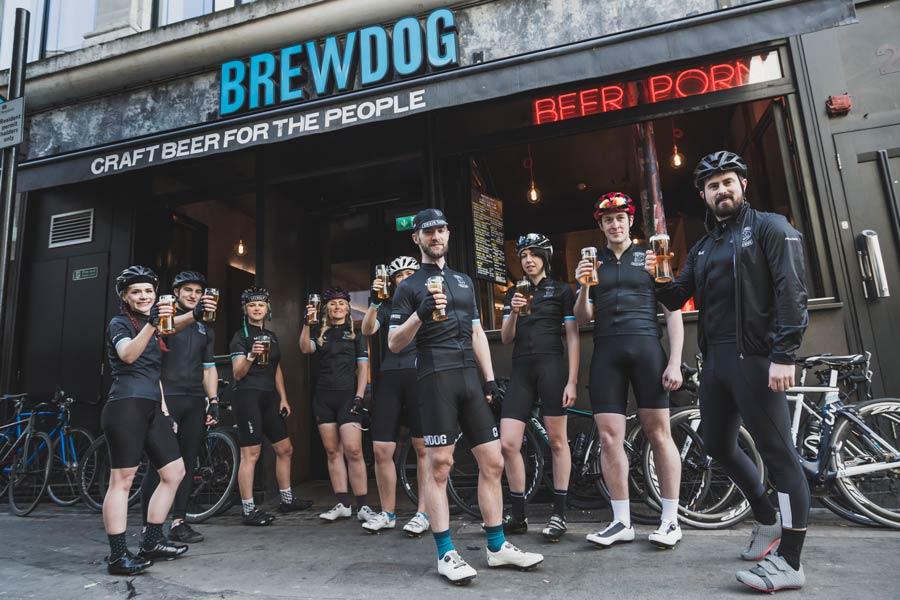 BrewDog Chain Gang amantes de la cerveza sobre ruedas – Loopulo