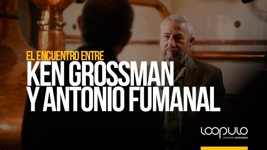 El encuentro entre KEN GROSSMAN y ANTONIO FUMANAL