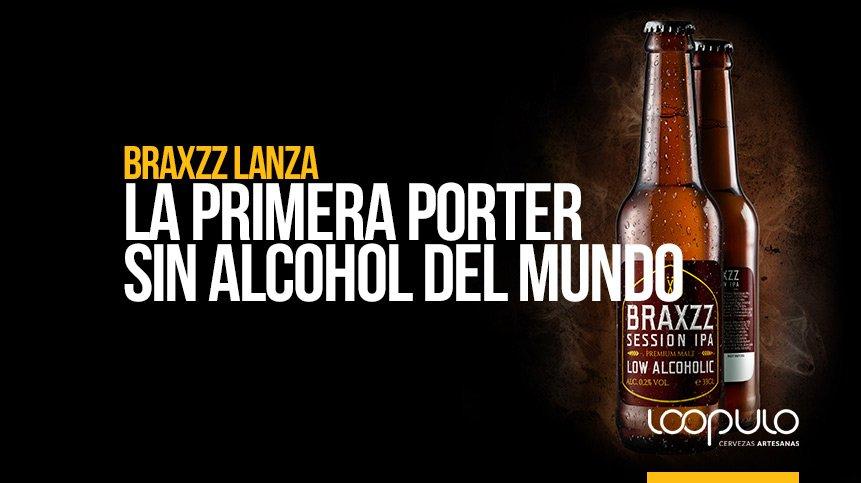 Braxzz lanza la primera PORTER SIN ALCOHOL del mundo