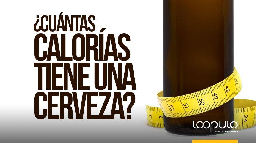 Cuantas calorias aporta un litro de cerveza