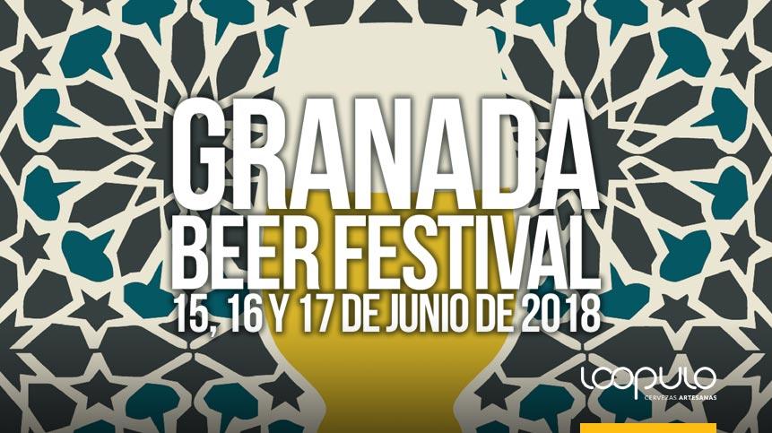 GRANADA BEER FESTIVAL | 15, 16 y 17 de junio de 2018