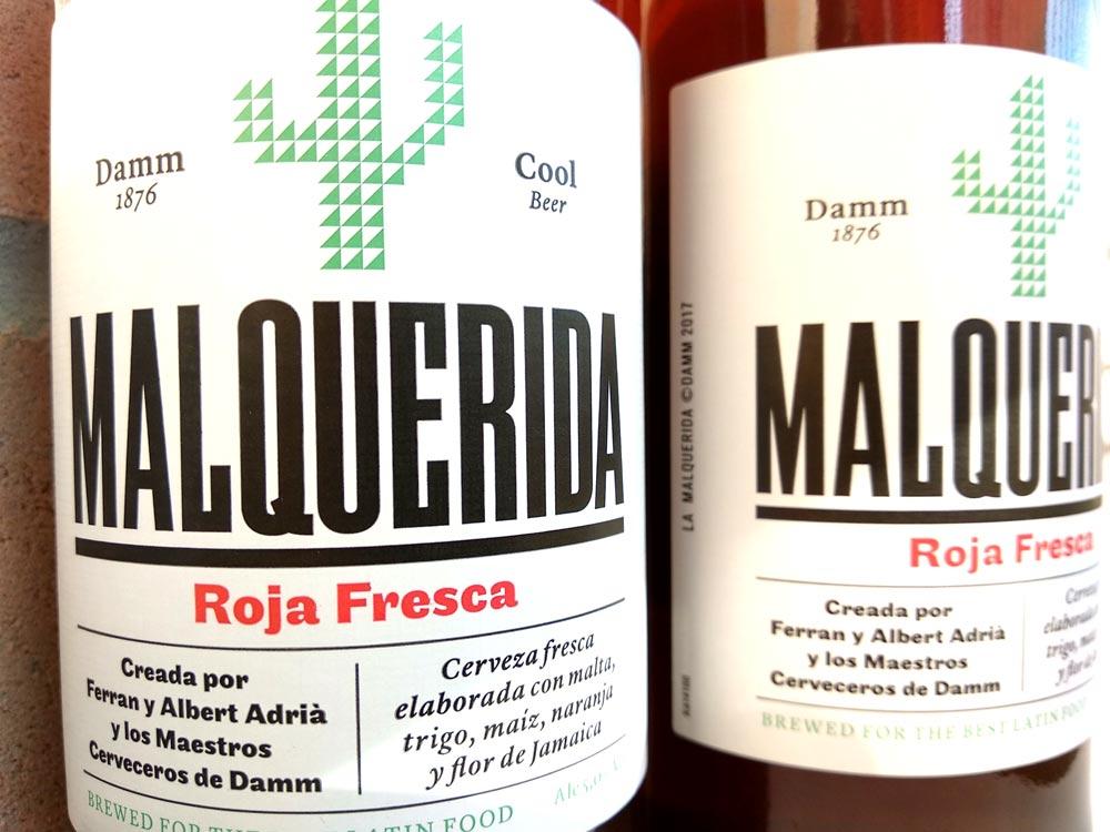 MALQUERIDA, la cerveza DAMM de los hermanos Adrià