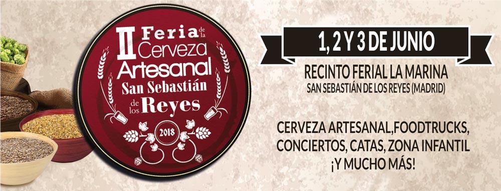 ⚡️ II Feria de la Cerveza Artesanal San Sebastián de los Reyes – Loopulo