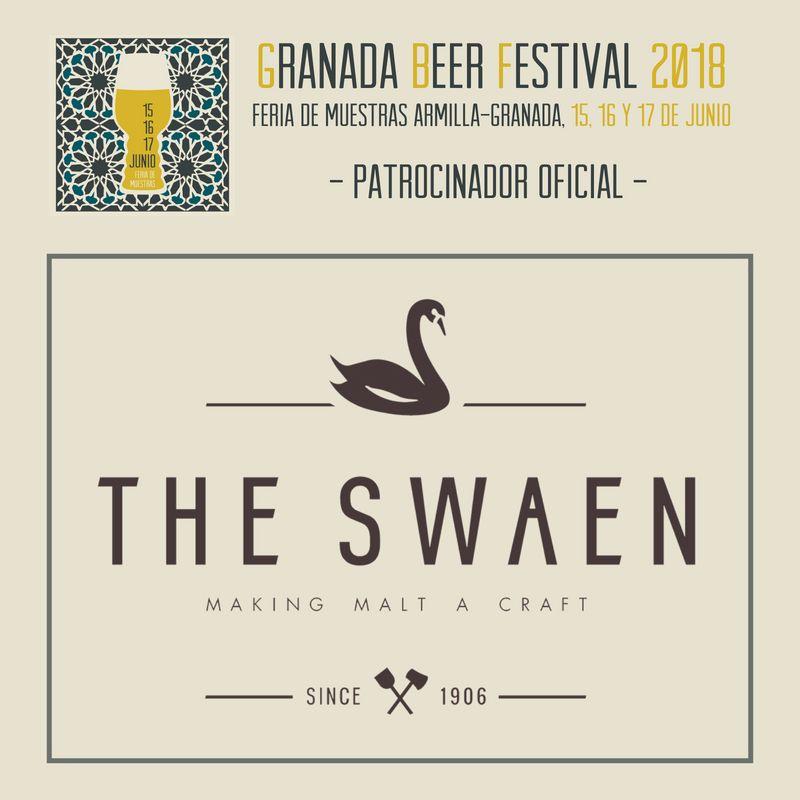 The Swaen: Patrocinador Oficial del Granada Beer Festival 2018 – Loopulo
