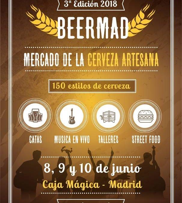 BEERMAD, el gran mercado de la cerveza artesana celebra su 3ª edición en Caja Mágica