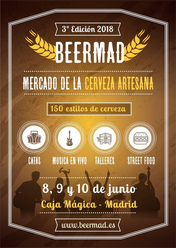 BEERMAD, el gran mercado de la cerveza artesana celebra su 3ª edición en Caja Mágica – Loopulo