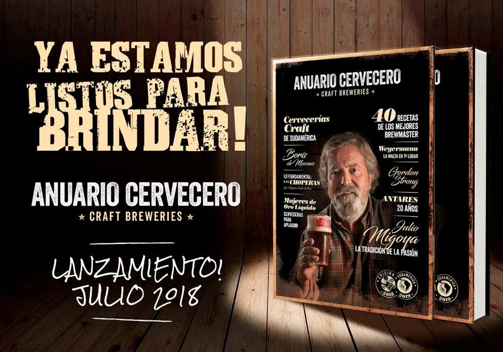 La segunda edición del Anuario Cervecero llegó a Sudamérica