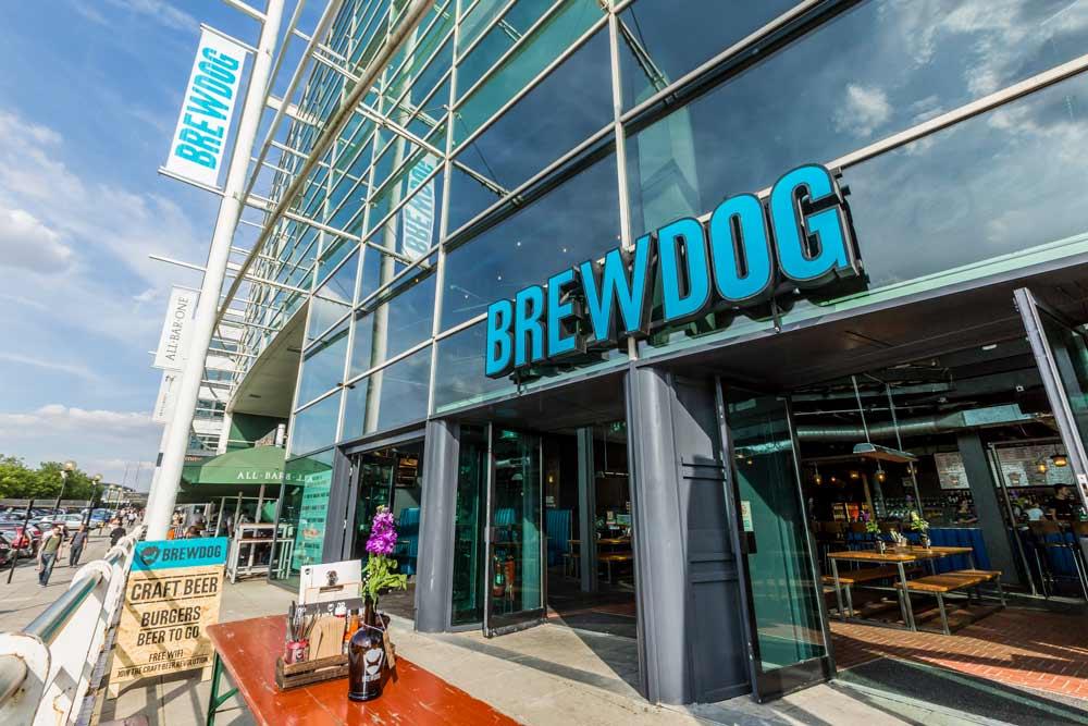 BrewDog continúa la cruzada artesanal con su bar en Milton Keynes