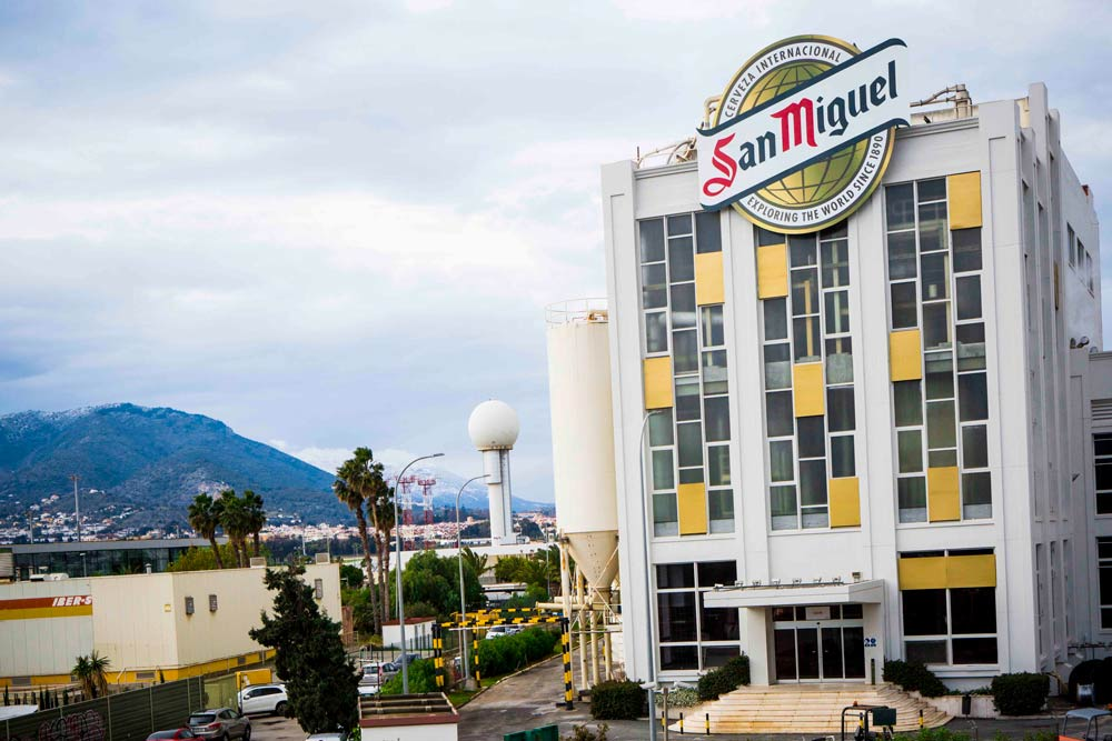 Mahou San Miguel invirtió 4 millones de euros en su centro de producción de Málaga en 2017