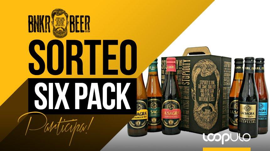 ¡SORTEAMOS un SIX PACK por el Día Internacional de la Cerveza!