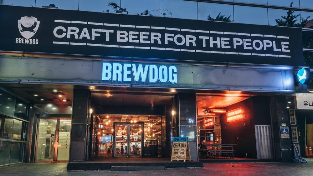BrewDog abre su primer brewpub en COREA DEL SUR