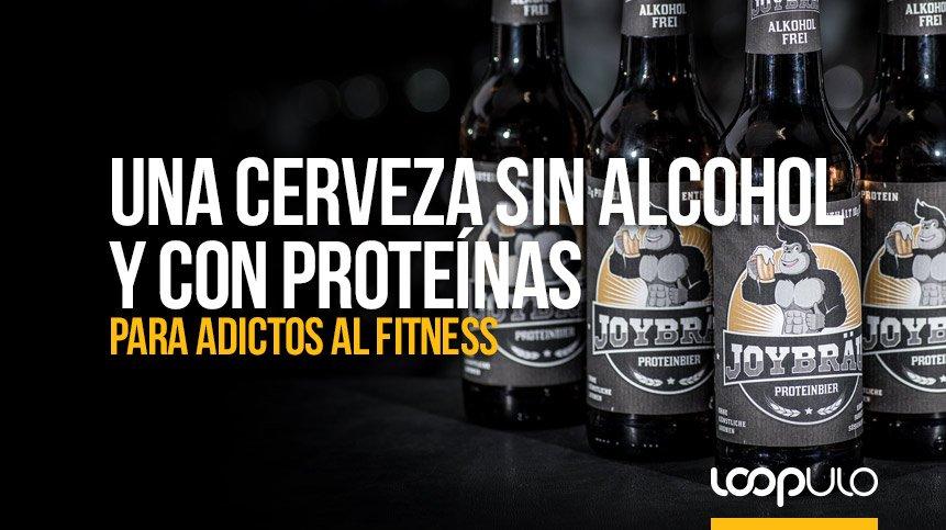 Una cerveza sin alcohol y con proteínas para ADICTOS AL FITNESS