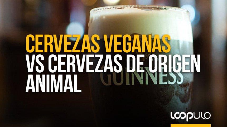 Cervezas VEGANAS vs cervezas de origen animal