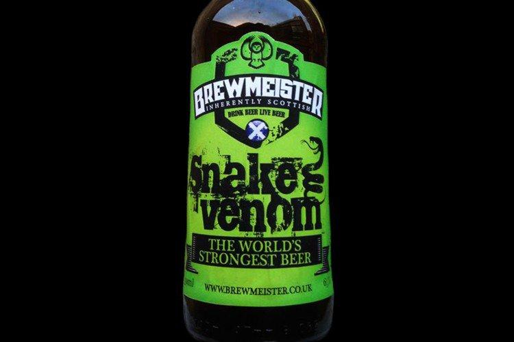 Snake Venom, la cerveza más fuerte del mundo, posiblemente
