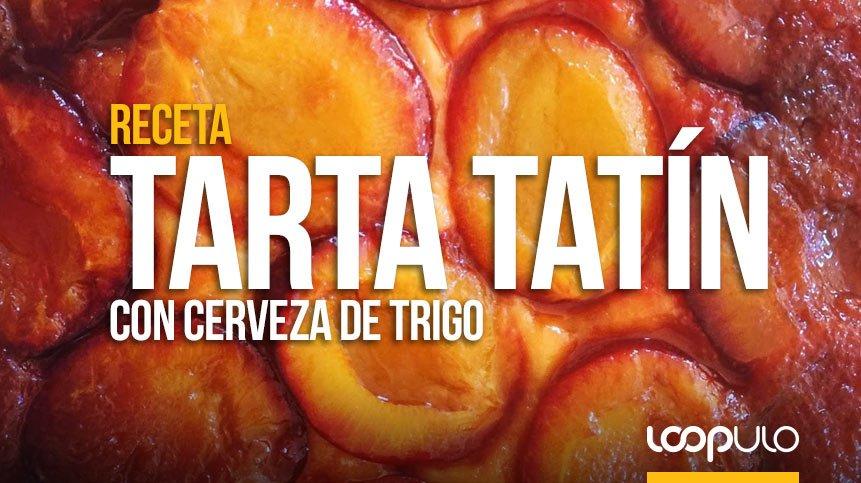 Receta de TARTA TATÍN con cerveza de TRIGO