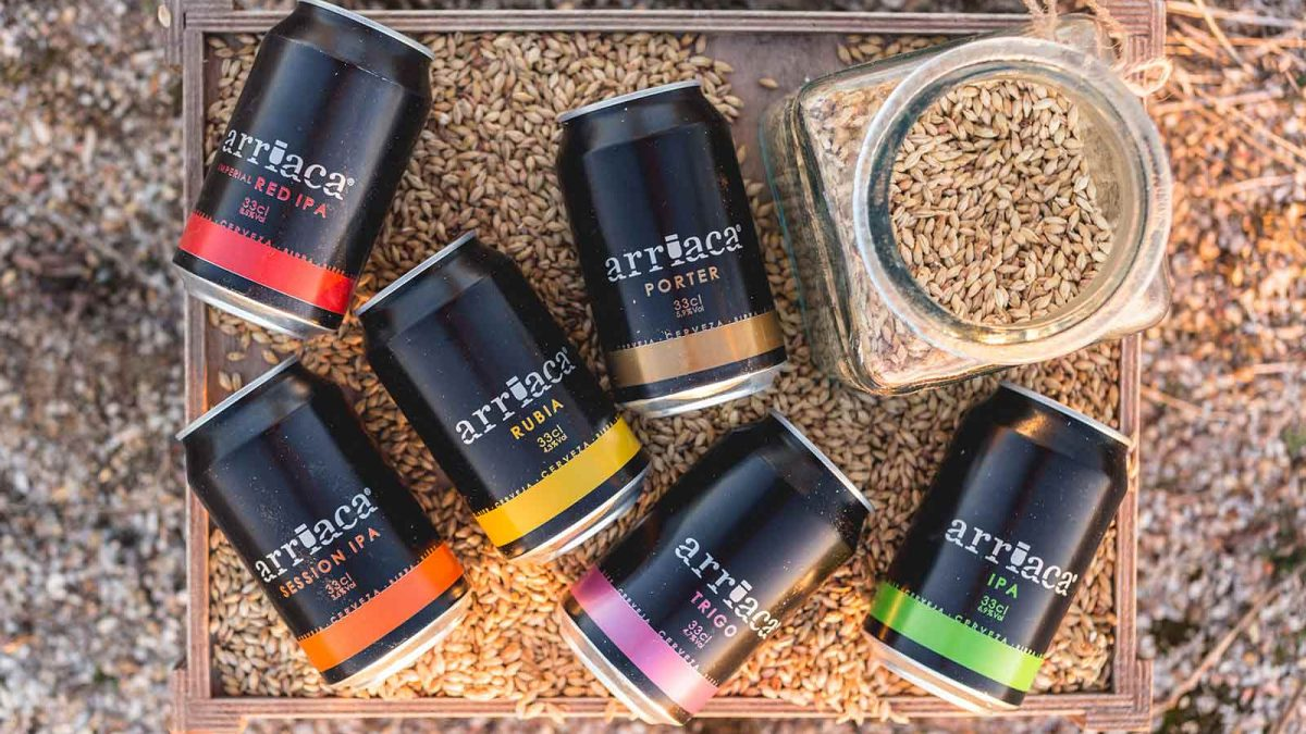 Cervezas Arriaca, una de las marcas de referencia en España