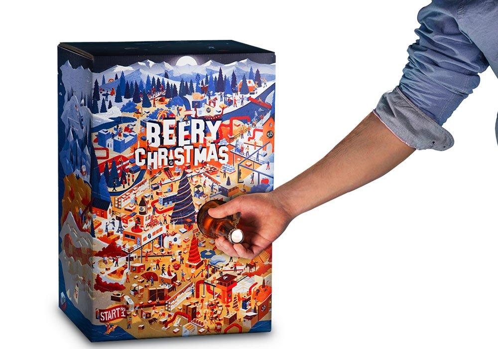 BEERY CHRISTMAS ¡El Calendario de Adviento de la cerveza está de vuelta!