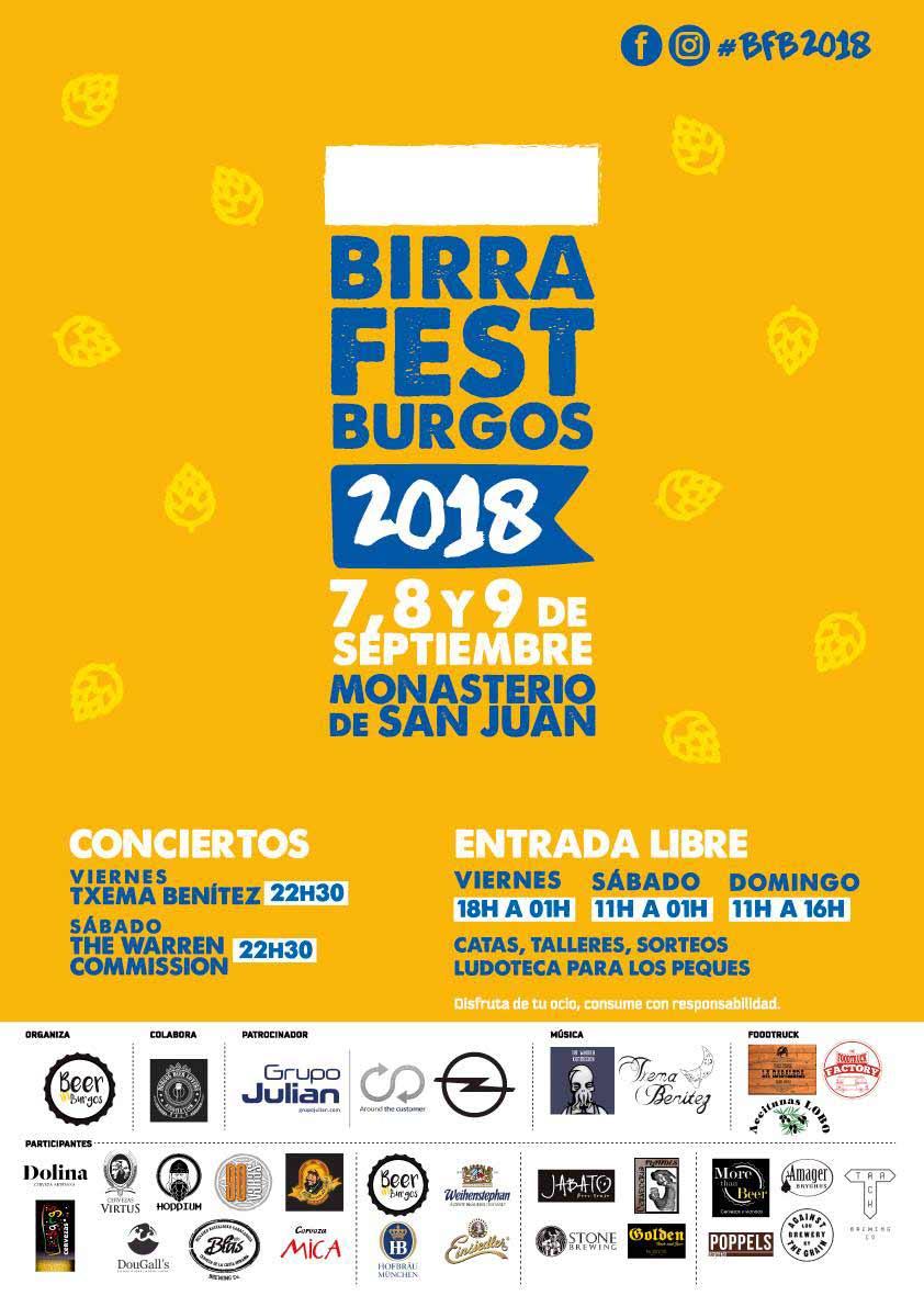 Empieza el BIRRA FEST BURGOS Feria de la cerveza artesana – Loopulo