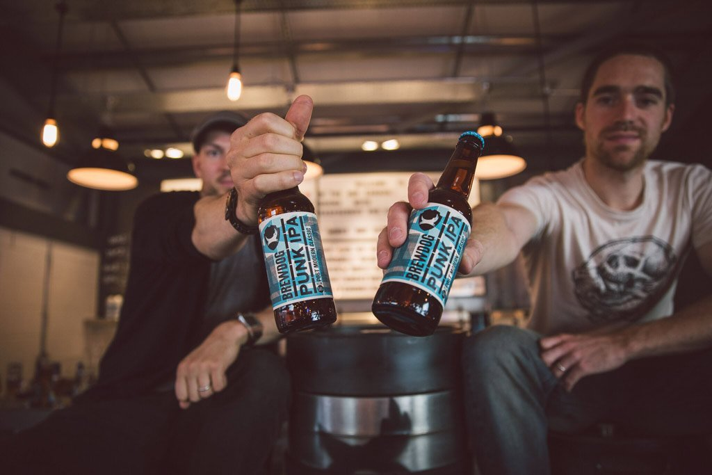 Equity for Punks. Fundadores de BrewDog, James Watt y Martin Dickie – Loopulo