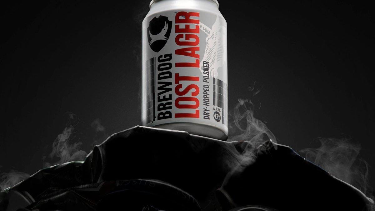 LOST LAGER, la nueva cerveza lager de BrewDog